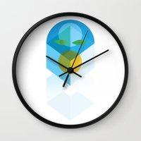 transformer Wall Clocks featuring Transformer by Fat Pony