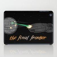 battlestar galactica iPad Cases featuring Galactica Trek Wars by sambeawesome