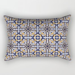 Portuguese tile Rectangular Pillow