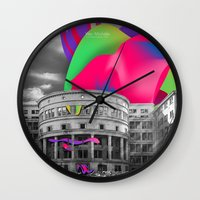 soviet Wall Clocks featuring Soviet Architecture by Wer Michèlle