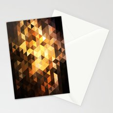 Triangle Design Chocolate Stationery Cards
