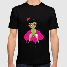 Bettie's Naughty DoomCakes Black Mens Fitted Tee SMALL