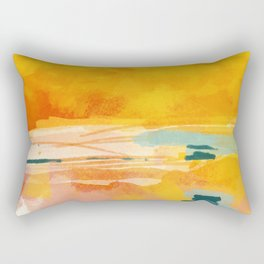 sunny landscape Rectangular Pillow