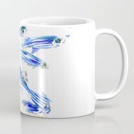 Blue Fish Aquatic fish design Coffee Mug