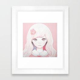 Usagi February Framed Art Print