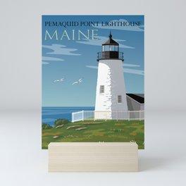 Pemaquid Point Lighthouse Mini Art Print