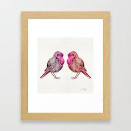 Rosie Birds Framed Art Print
