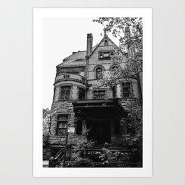 Brooklyn Heights Brownstone Art Print