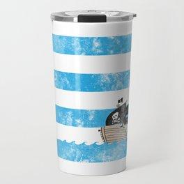 Pirates Love Stripes Travel Mug