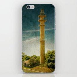 DE - Niedersachsen Old lighthouse in Schillig iPhone Skin