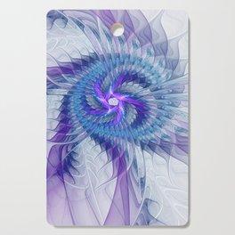 Swirl, Abstract Fractal Art Cutting Board