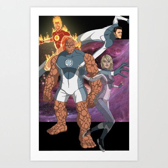 Fantastic Four: World's Greatest Heroes Art Print