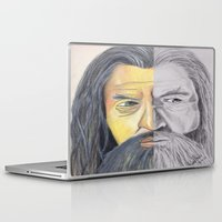 gandalf Laptop & iPad Skins featuring Gandalf   by RidnelSilva