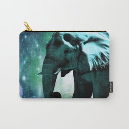 Galaxy Elephant of the Planet Pachyderm Carry-All Pouch