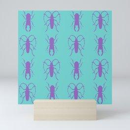 Beetle Grid V1 Mini Art Print