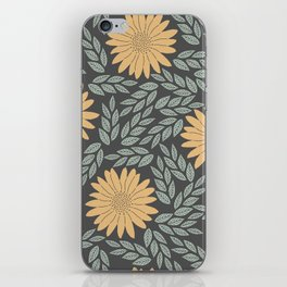 Autumn Flowers iPhone Skin