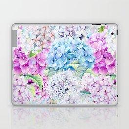 Multicolor Watercolor Hydrangea dream pattern Laptop & iPad Skin