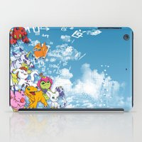 digimon iPad Cases featuring Digimon Adventure Partners by Jelecy
