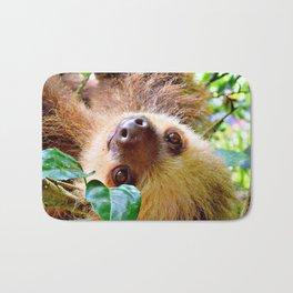 Awesome Sloth Bath Mat