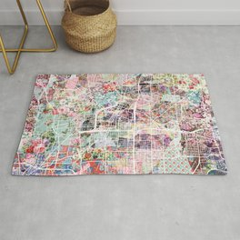 Akron map Rug