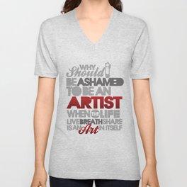 I Am Artist Unisex V-Neck