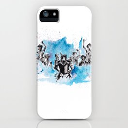 Dreaming With Our Eyes Wide Open iPhone Case