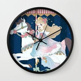 Carousel: Once Upon a Dream Wall Clock