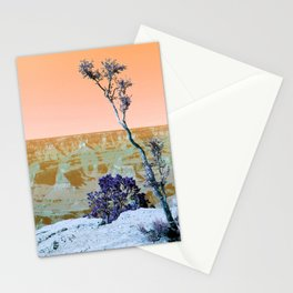 Little Tree on the Canyon V3 - New Hue Stationery Cards