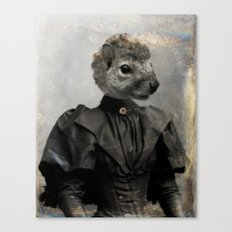 Miss Squirrel Canvas Print