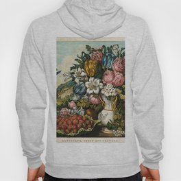 Landscape, Fruit and Flowers Hoody