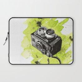 Vintage Camera - Rolleiflex Laptop Sleeve
