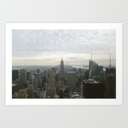 NYC from Above Art Print
