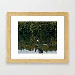 Lucky Catch Framed Art Print