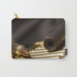 Rifle Barrel and Bullets Carry-All Pouch