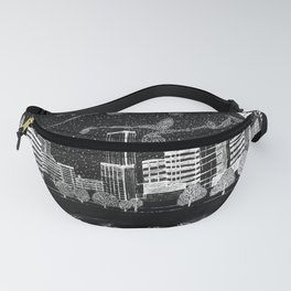 Portland Oregon Skyline Fanny Pack
