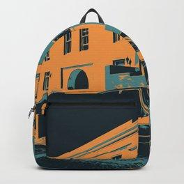 Car Poster   2 Backpack