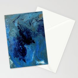Copper Sands Against Deep Blue Sea Stationery Cards