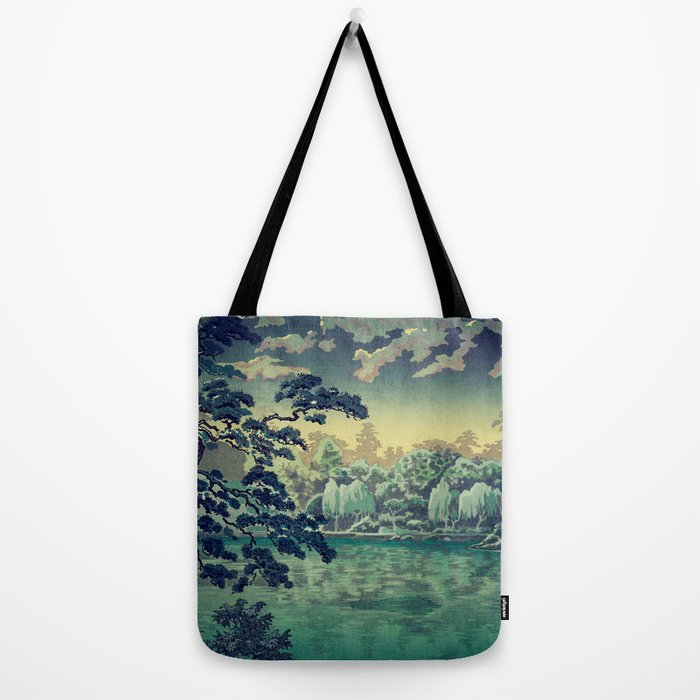 At Yasa Bay Tote Bag