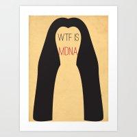 WTF is MDNA Art Print