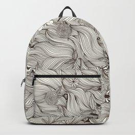 Mermaid hair Backpack