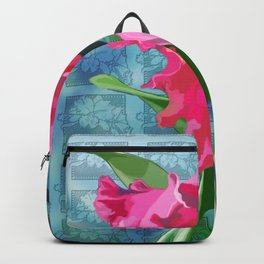 Cattleya Orchid Backpack