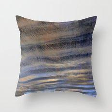 upside down world Throw Pillow