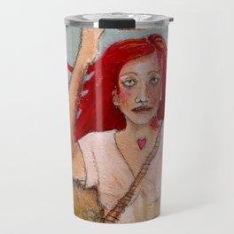 Crowning Herself Travel Mug