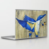 technology Laptop & iPad Skins featuring The Thing with Technology... by Amy Taylor
