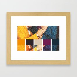 All You Need is Colors Framed Art Print