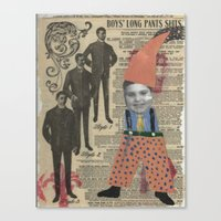 suits Canvas Prints featuring Suits by Marnie