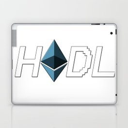HODL Ethereum Laptop & iPad Skin
