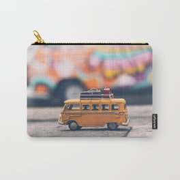 orange toy bus Carry-All Pouch