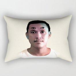 An Eye for an Eye, A Tooth for a Tooth. Rectangular Pillow