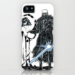 Darth Vader Redeemed iPhone Case